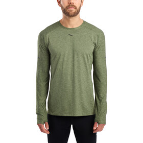 saucony Breakthru Long Sleeve Shirt Men, four leaf clover